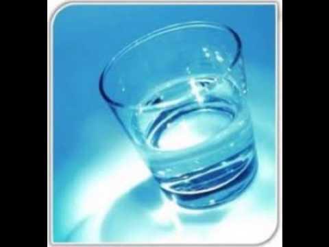 vaso con agua leyenda