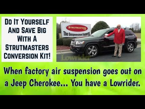 2011 Jeep Grand Cherokee With A Bad Suspension