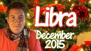 Horoscope for Libra December 2015 | Christmas & New Years Eve | Predictive Astrology