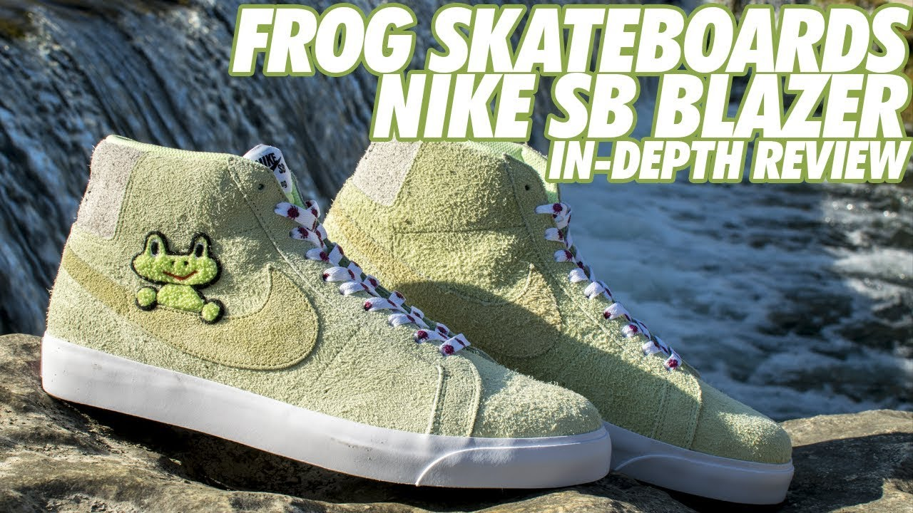 super specials performance sportswear best NIKE SB X FROG SKATEBOARDS BLAZER MID REVIEW!