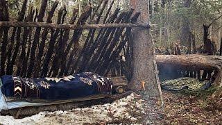 Spring Overnighter At Bขsh Camp. Hunt & Cook Duck