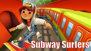 SUBWAY SURFERS Android Game Play Video - Subway Surfers Games