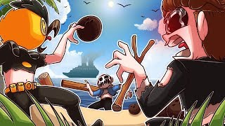 CAN I SURVIVE LONGER THAN VANOSS AND DELIRIOUS ON THIS DESERTED ISLAND???