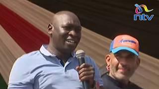 Joshua Kutuny takes a swipe at Murkomen after calling Raila 'Baba' in Mombasa