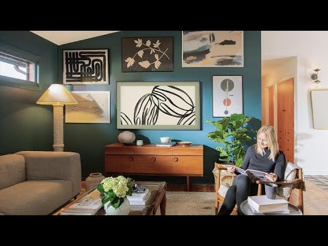 The Frame Design Your Home And Redefine Your Style Samsung Youtube