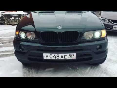Разбор и окрас масок фар BMW X5e53 дорестайлинг
