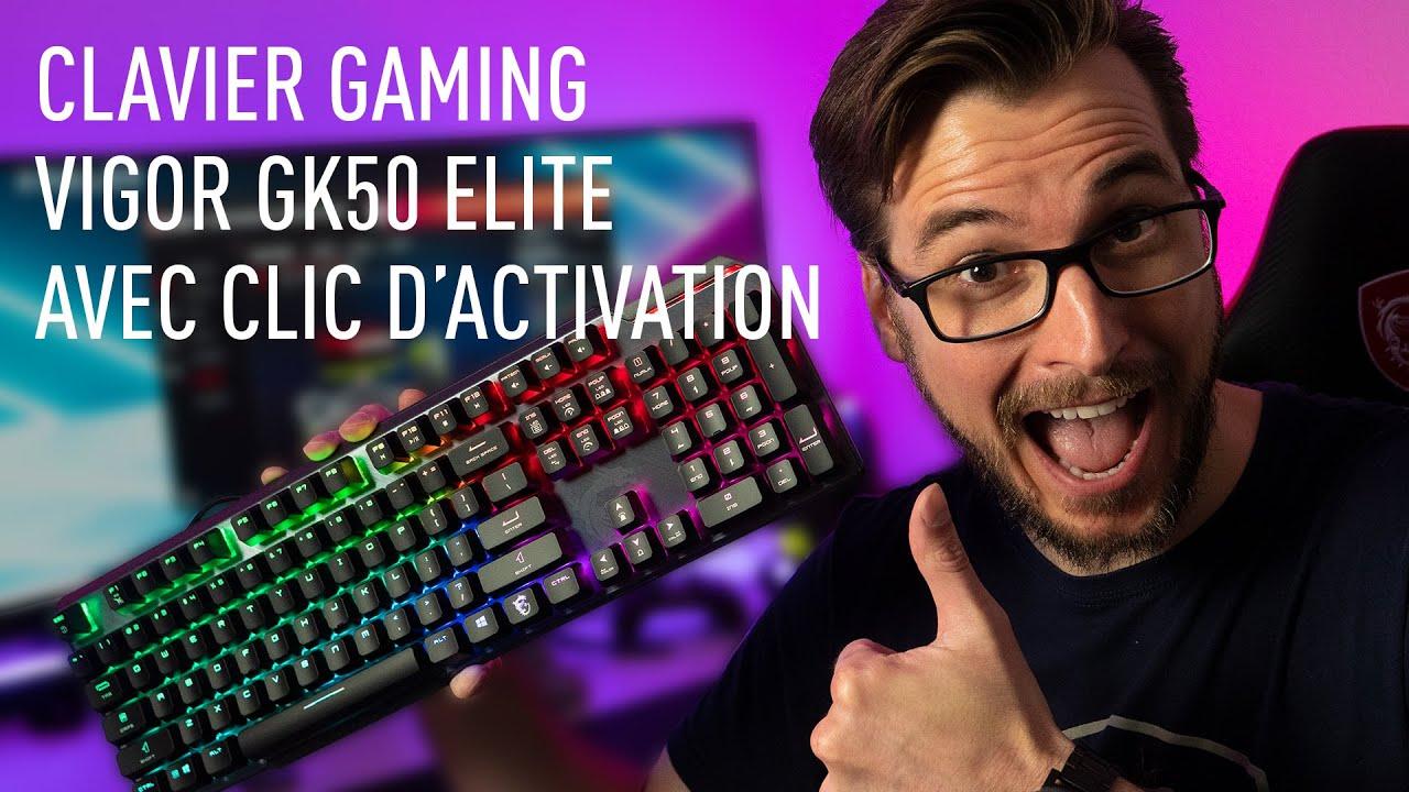 Découvrez le nouveau clavier VIGOR GK50 ELITE