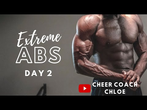 extreme ab workout  day 2  youtube
