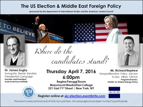 The US Election and Middle East Foreign Policy