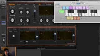 Retro Synth Brief Overview for Beginners Logic Pro X