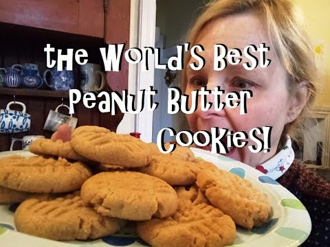 Seriously The World's Best Peanut Butter Cookie Recipe!!