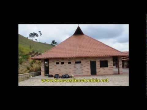 Kioscos de colombia 10 youtube for Diseno de kioscos en madera
