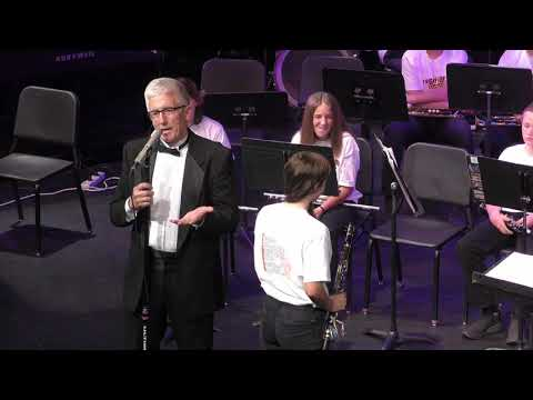 Friday Harbor Middle School Spring Band Concert (May 29th, 2019)