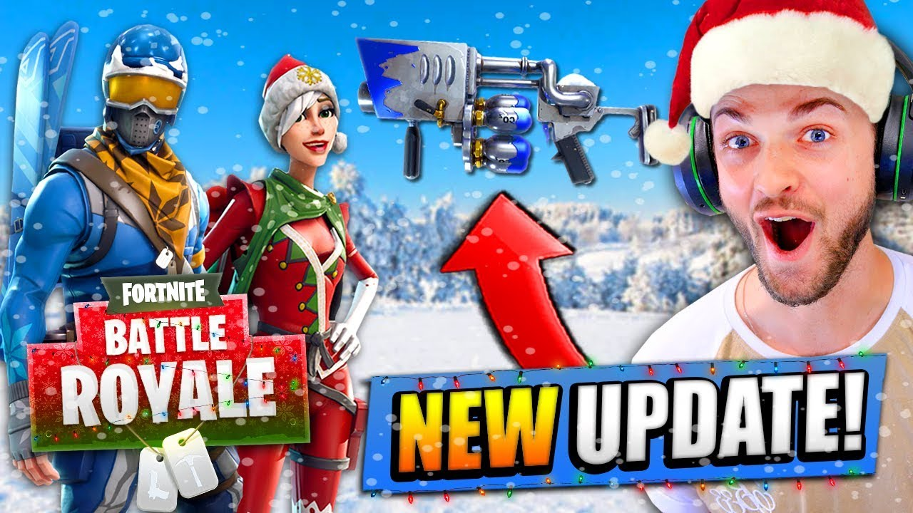 New Christmas Update For Fortnite Battle Royale Youtube