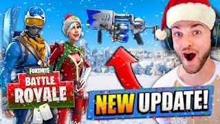 new christmas update for fortnite battle royale