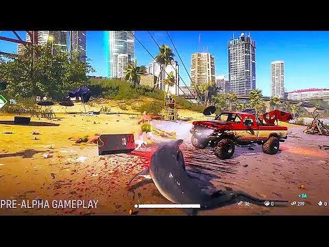 MAN EATER - 25 Minutes Of Gameplay Demo (Open World Shark Game) 2020