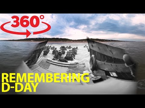 Join WWII Vets On Emotional Return To Normandy For D-Day In VR