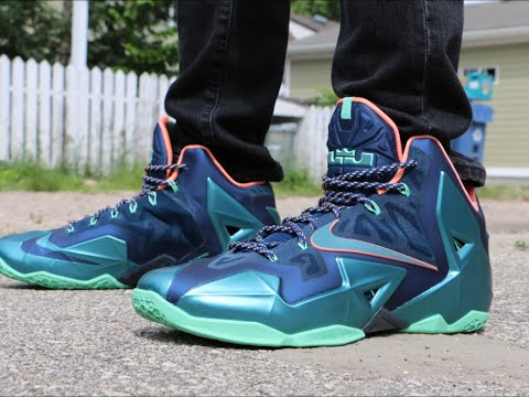 Nike LeBron 11 Miami vs Akron - On Foot