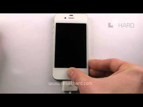 How To Hard Reset Apple iPhone iOS7
