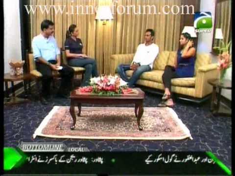 Shoaib Malik & Sania Mirza interview on super exclusive Part 5/6