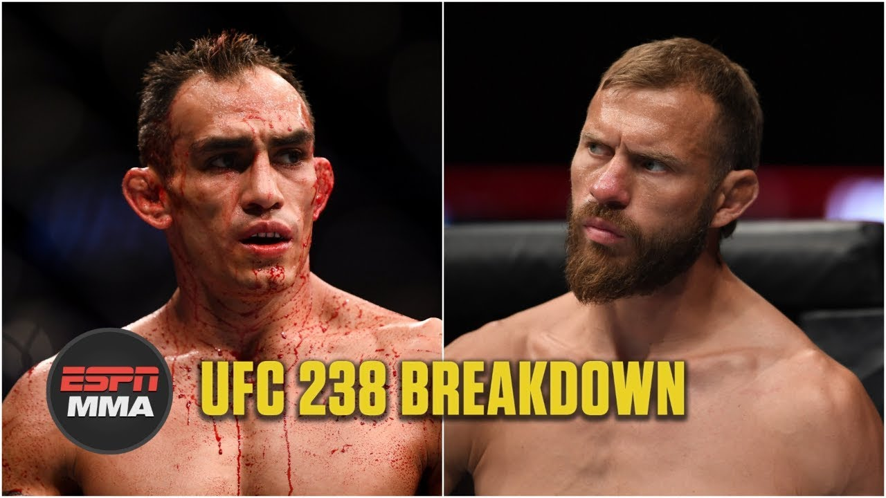 Tony Ferguson vs. Donald Cerrone breakdown | UFC 238 | ESPN MMA