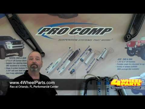 How to Pick the Right Shocks for Your Vehicle - Featuring Pro Comp