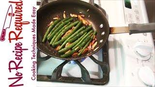 Green Bean Almondine - Noreciperequired.com