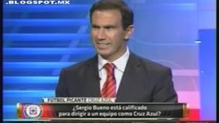Cruz Azul presenta a su nuevo DT Sergio Bueno