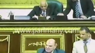 بالفيديو.. سجال بين كمال عامر وحسام الرفاعى بمجلس النواب بسبب إعلان الطوارئ فى سيناء