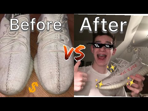 How to clean your Yeezys!!