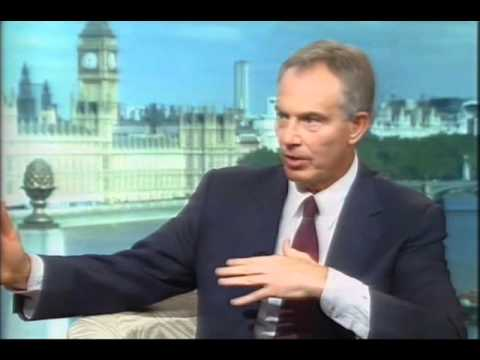 Tony Blair Interview With Andrew Marr  Iraq War Section Part 1- Tony Blair's Memoirs - A Journey.