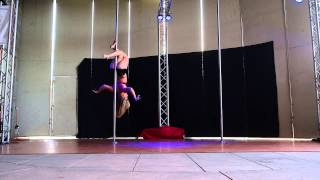 1st Place Advanced - Paige B. - 2015 Epic Pole Dance Competition