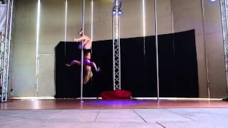 1st Place Advanced - Paige B. - 2015 Epic Pole Dance Competition