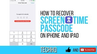 How to remove bypass screen time restrictions password no computer