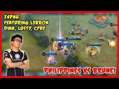 Z4pnu Against Brunei Team! - Mobile Legends