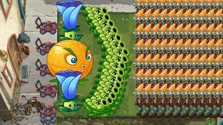 Plants vs Zombies 2 - Citron, Sling Pea and Moonflower