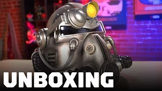 Fallout 76: Unboxing the Power Armor T-51 Helmet Edition thumbnail