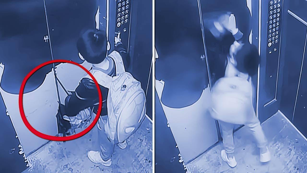 A Câmera de Vigilância Registrou Algo Que Ninguém Deveria Ter Visto!