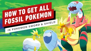 How to Get Every Fossil Pokemon in Sword and Shield (Dracovish, Arctovish, Dracozolt, Arctozolt)