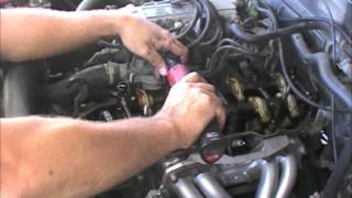 Camshaft Install on a Toyota 86 22RE Cylinder Head On