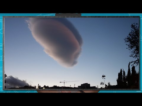 Clouds That Look Like UFOs?  Weird Clouds | Earth Lab