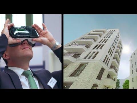 VR Brille Samsung Gear VR auf der BIM 2015 - begehungen.de