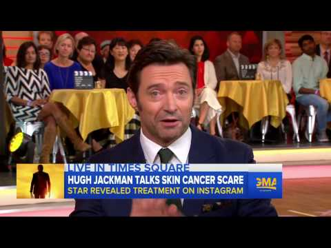Hugh Jackman Interview: Beating skin cancer, 'Logan'