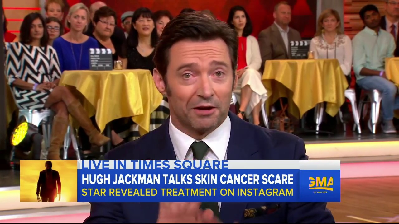 Hugh Jackman Interview Beating Skin Cancer Logan Youtube