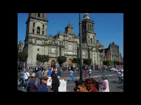 MEXICO CITY CDMX Historic Center and Angel of Independence Dec. 2016