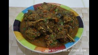 🇬🇧🇮🇳 Slow Cooked Indian Lamb Curry Recipe - Super Tasty Gosht Masala