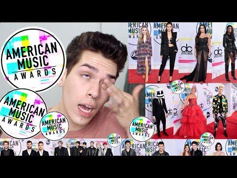American Music Awards 2017 Red Carpet Fashion!