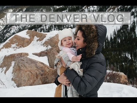 Travel to Denver Colorado (and Breckenridge) | Snowy Winter Mountain Memories Vlog