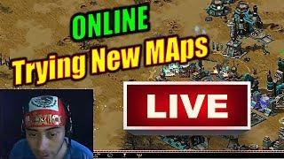 Trying New Maps | Red Alert 2 - Yuri