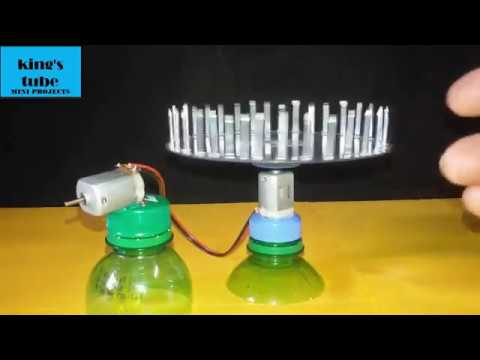 free energy using waste materials..how to make mini projects